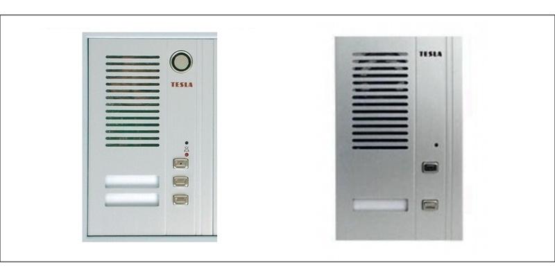 Realizace domovních telefonů Tesla Stropkov