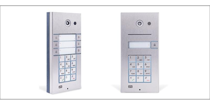 Domovní telefony 2N Vario - realizace