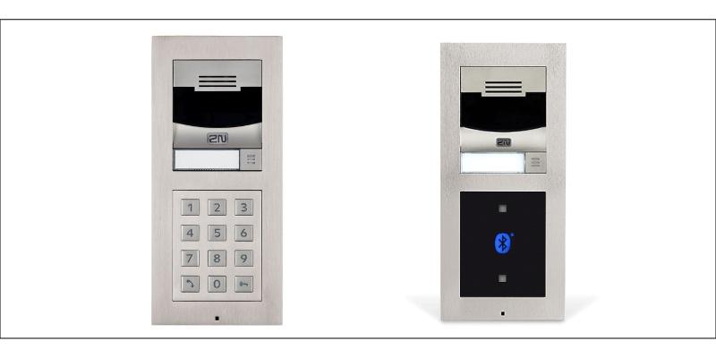 Domovní telefony 2N Verso - realizace