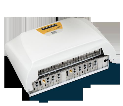 Telefonní ústředna 2N Omega Lite je ideální volba pro malé a střední firmy s vysokým počtem interních hovorů a pro společnosti s více pobočkami v rámci České republiky nebo v zahraničí. Ústředna má 24 portů, ale při vyšších kapacitních nárocích můžete volit 2N Omega 48, která má počet portů dvojnásobný.