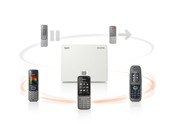Kompatibilní téměř se všemi standardními IP telefonními sítěmi s funkcí vzdálené administrace. Navržená ke spolupráci s kompletní řadou sluchátek Gigaset pro a technologií repeateru pro větší kanceláře nebo rozšířené venkovní lokality.